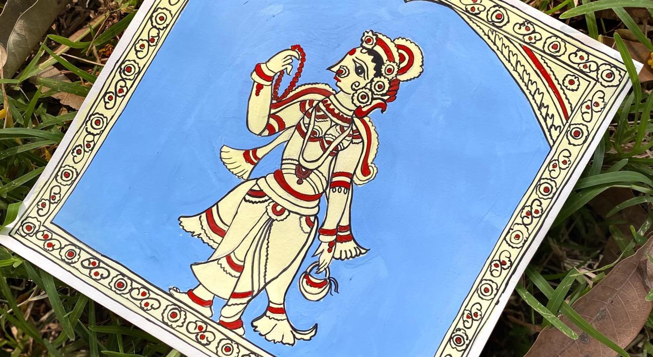 Dialogues with Art Meet-Up: Intro to Kalamkari