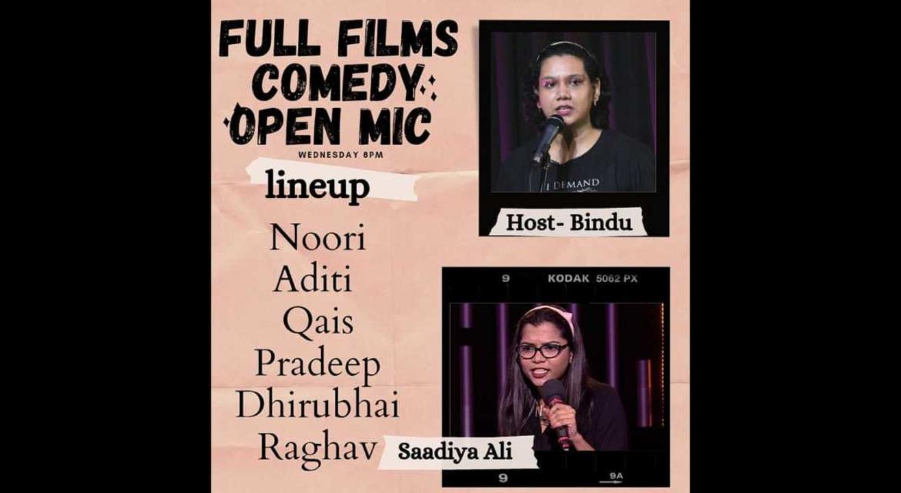 Full Films comedy open mic