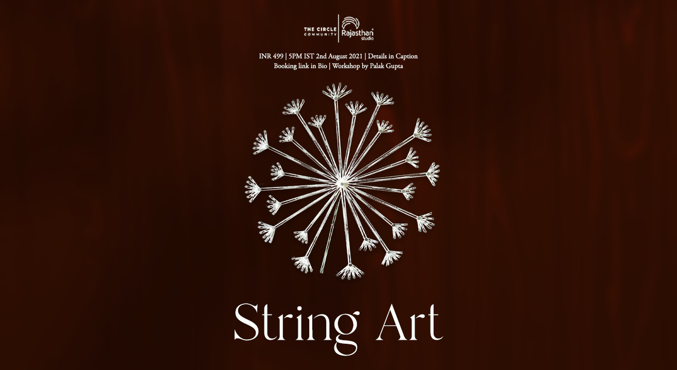 String Art Workshop by The Circle Community
