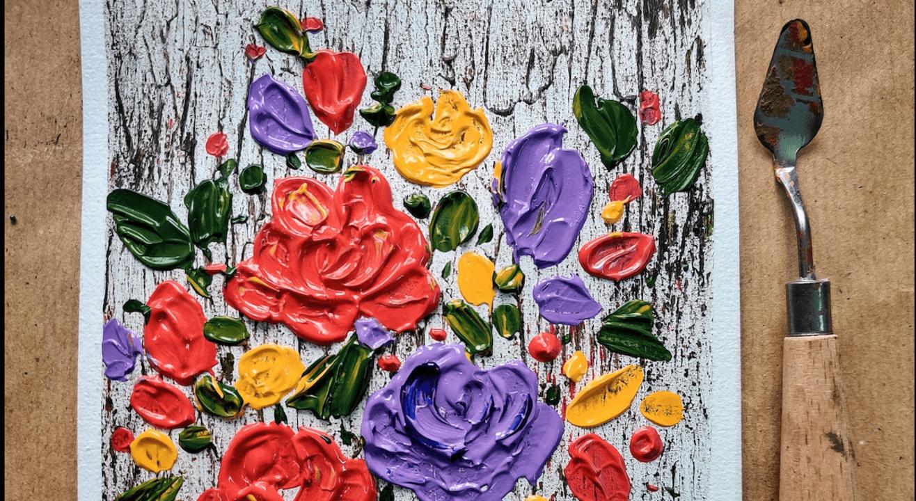 Texture Painting Workshop
