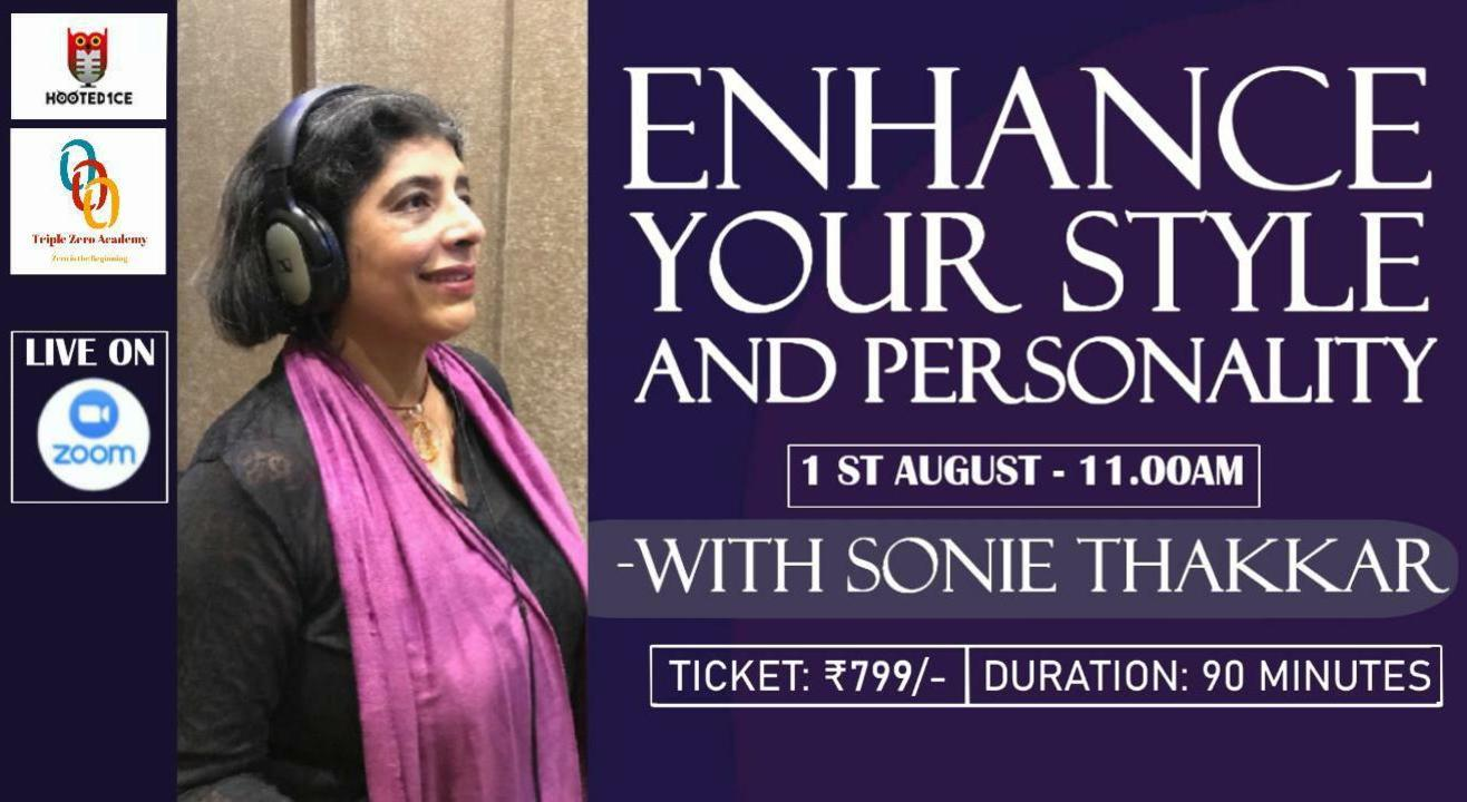 Enhance your Style and Personality with Sonie Thakkar