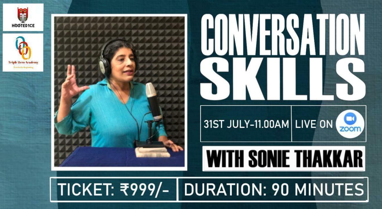 Conversation Skills with Sonie Thakkar