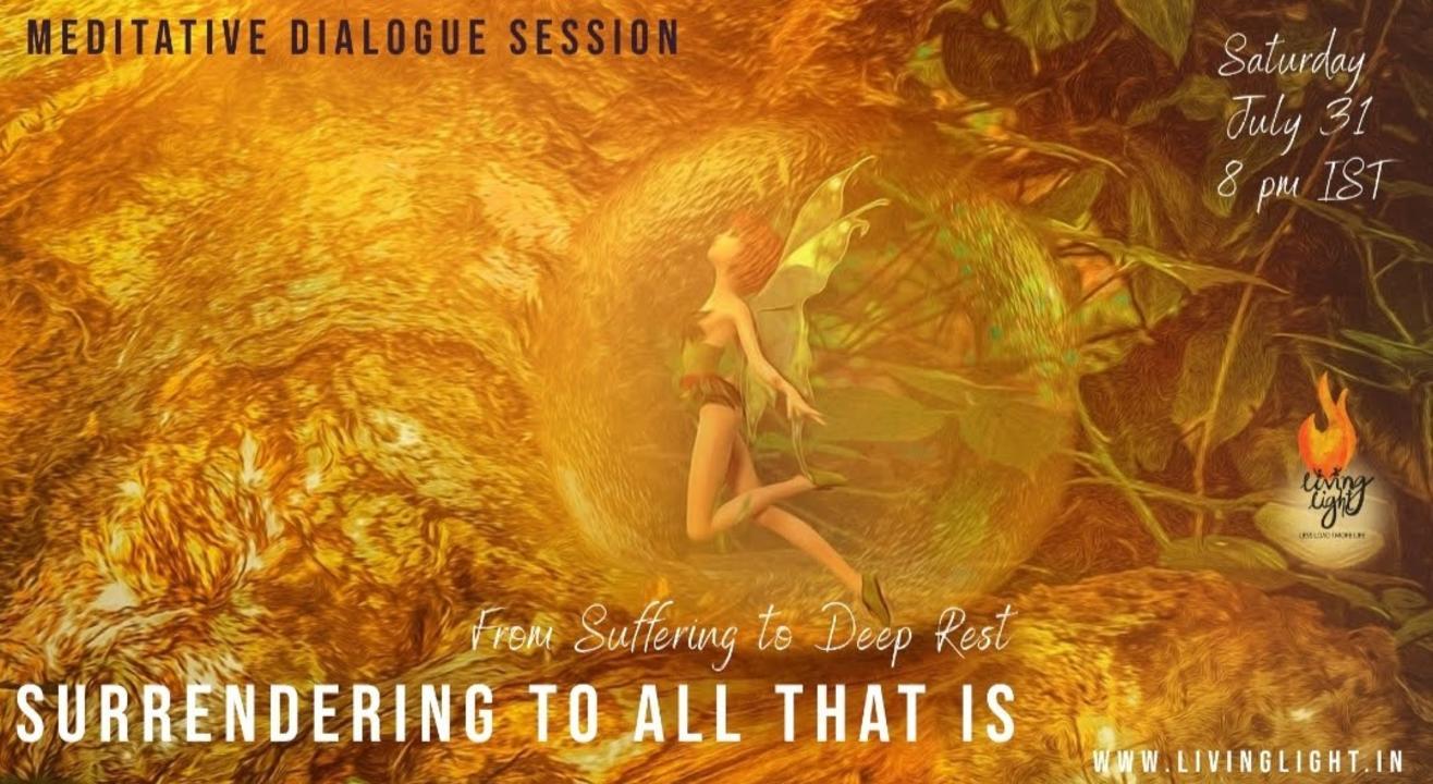 Meditative Dialogue session
