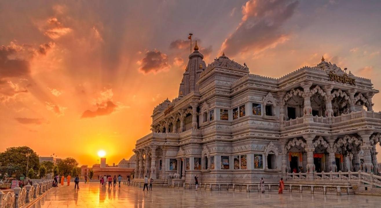 1 Day Mathura Vrindavan Tour from Delhi