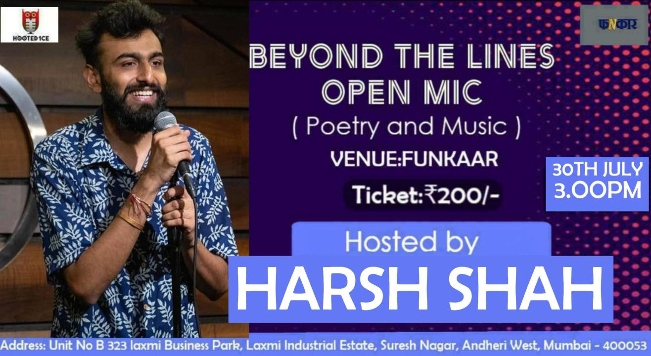 Beyond the Lines Open Mic (Poetry and Music)