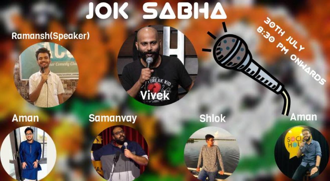 Jok Sabha - A  political Comedy Show with Vivek Muralidharan