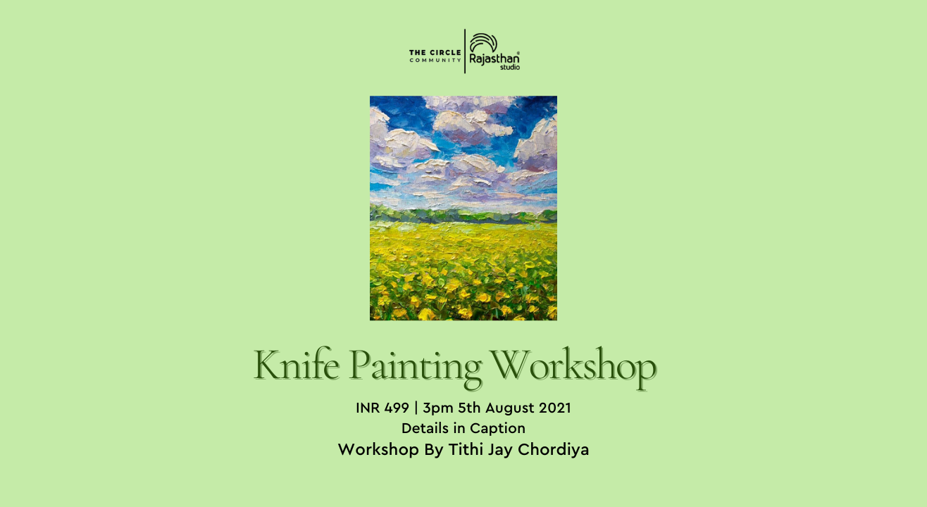 Knife Painting Workshop by The Circle Community