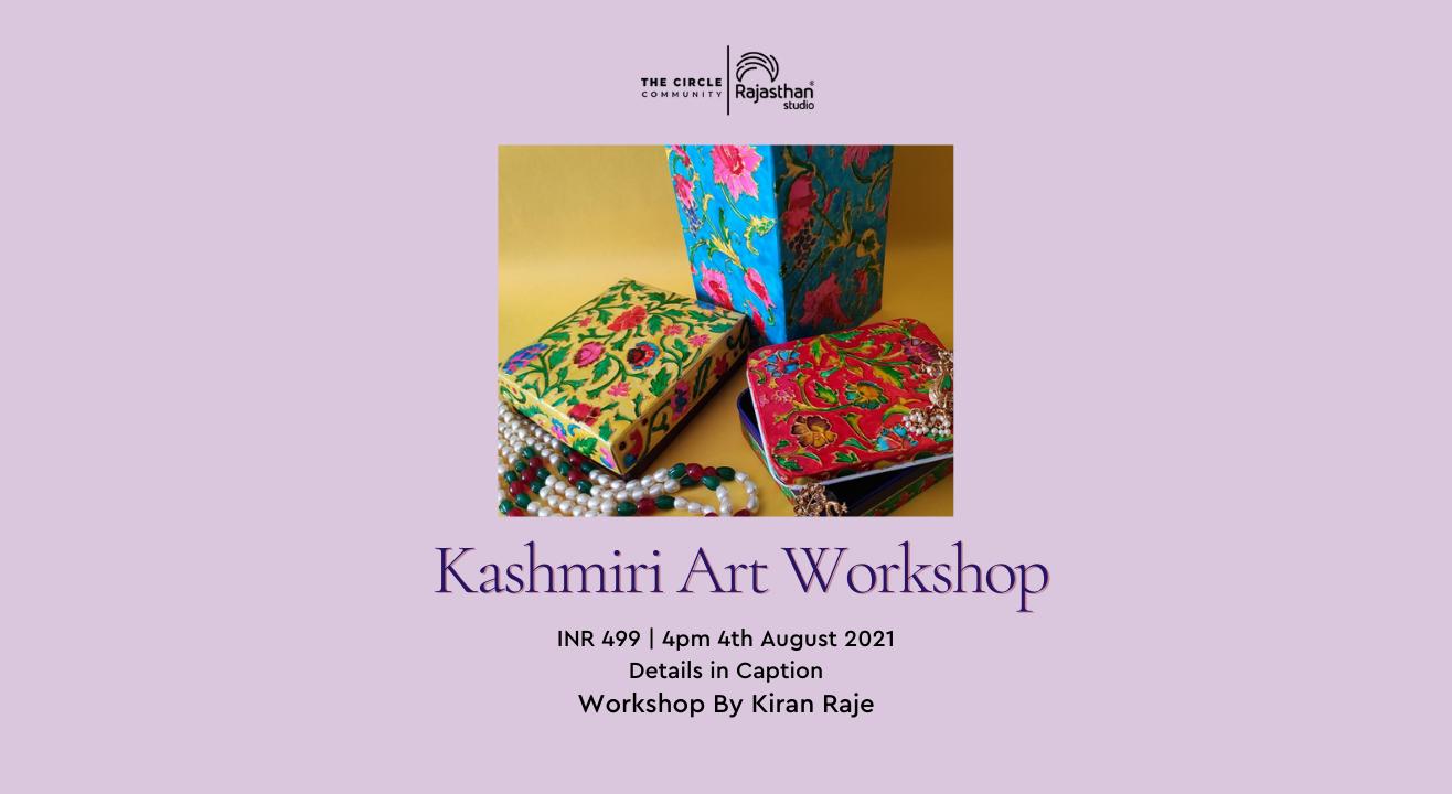 Kashmiri Art Workshop by The Circle Community