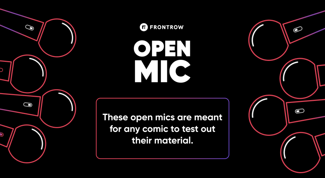 FrontRow Open Mic