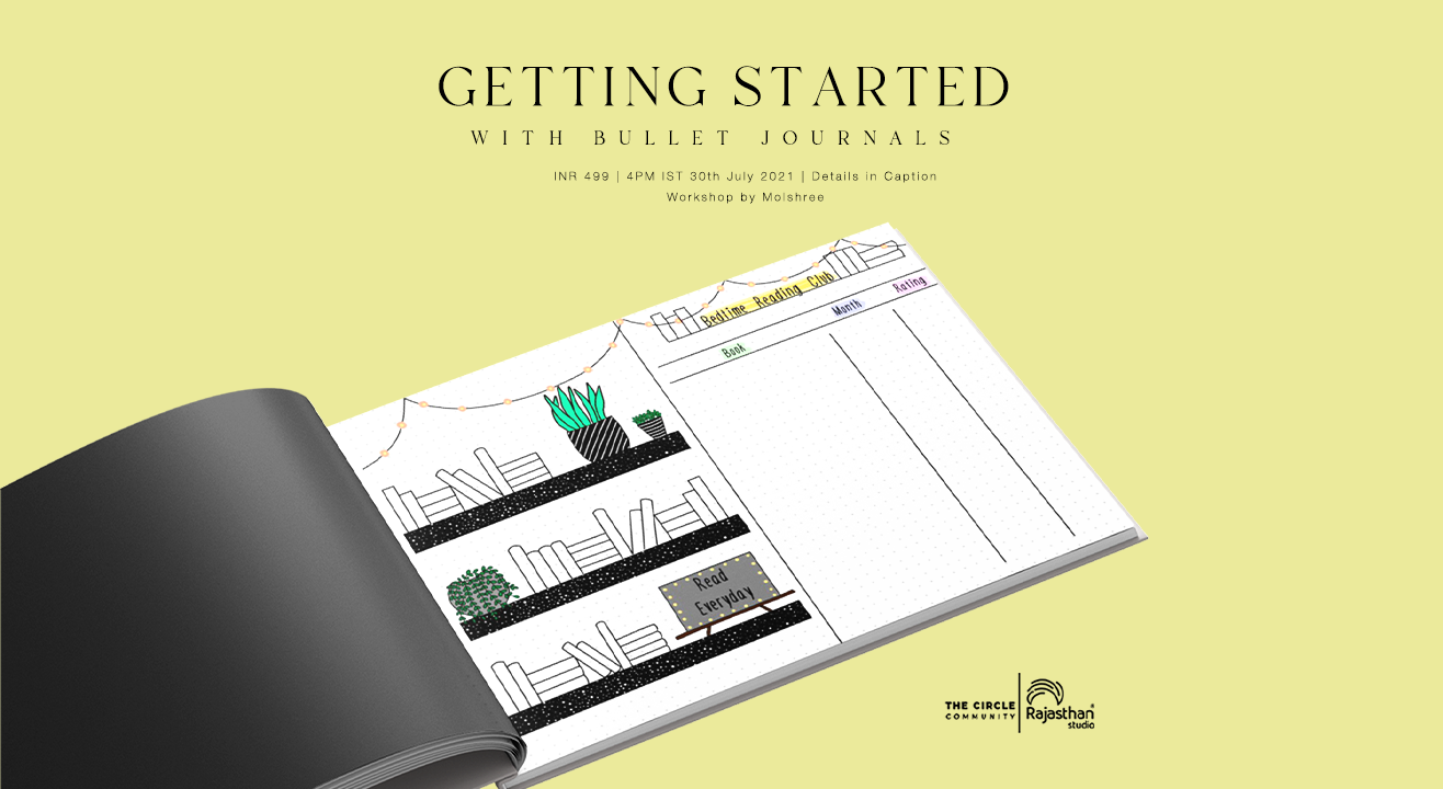 Getting started with Bullet Journals Workshop by The Circle Community