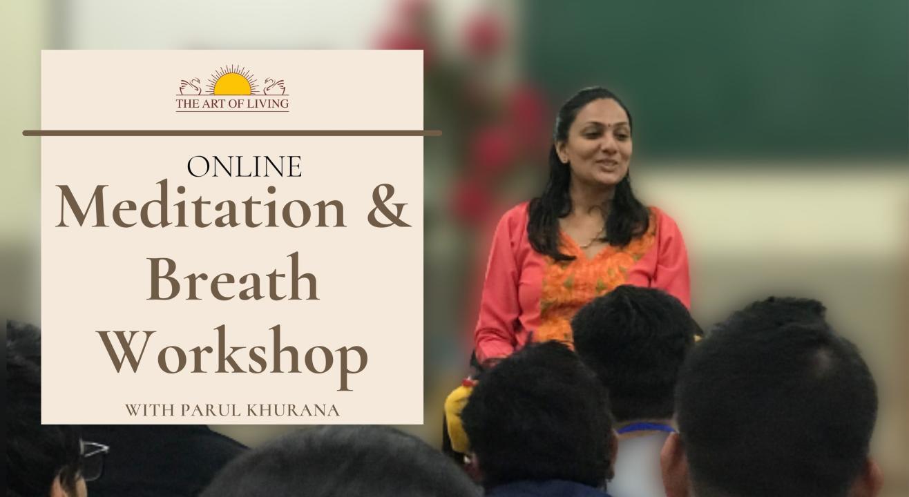 Online Meditation & Breath Workshop