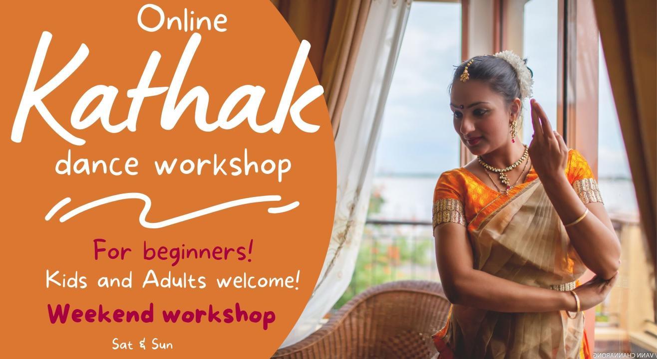 Online Kathak Dance Workshop