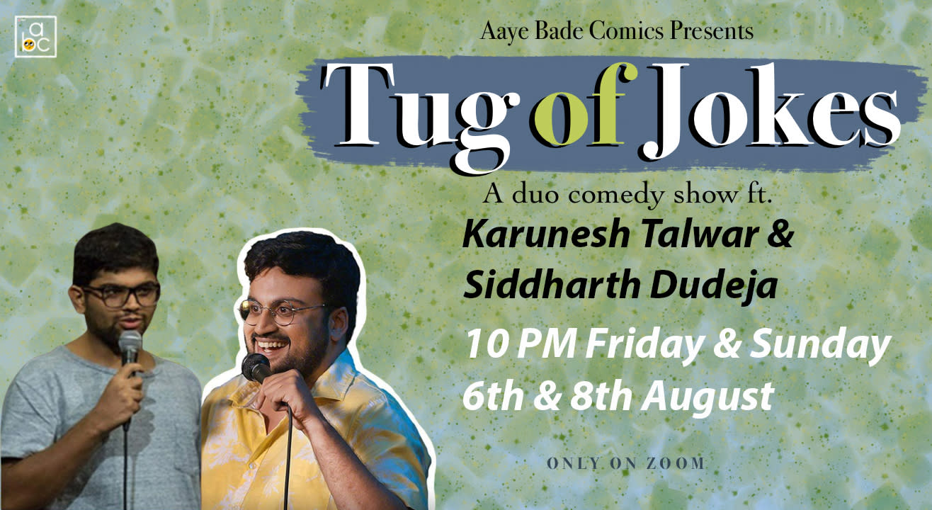 Tug of Jokes Ft. Karunesh Talwar & Siddharth Dudeja