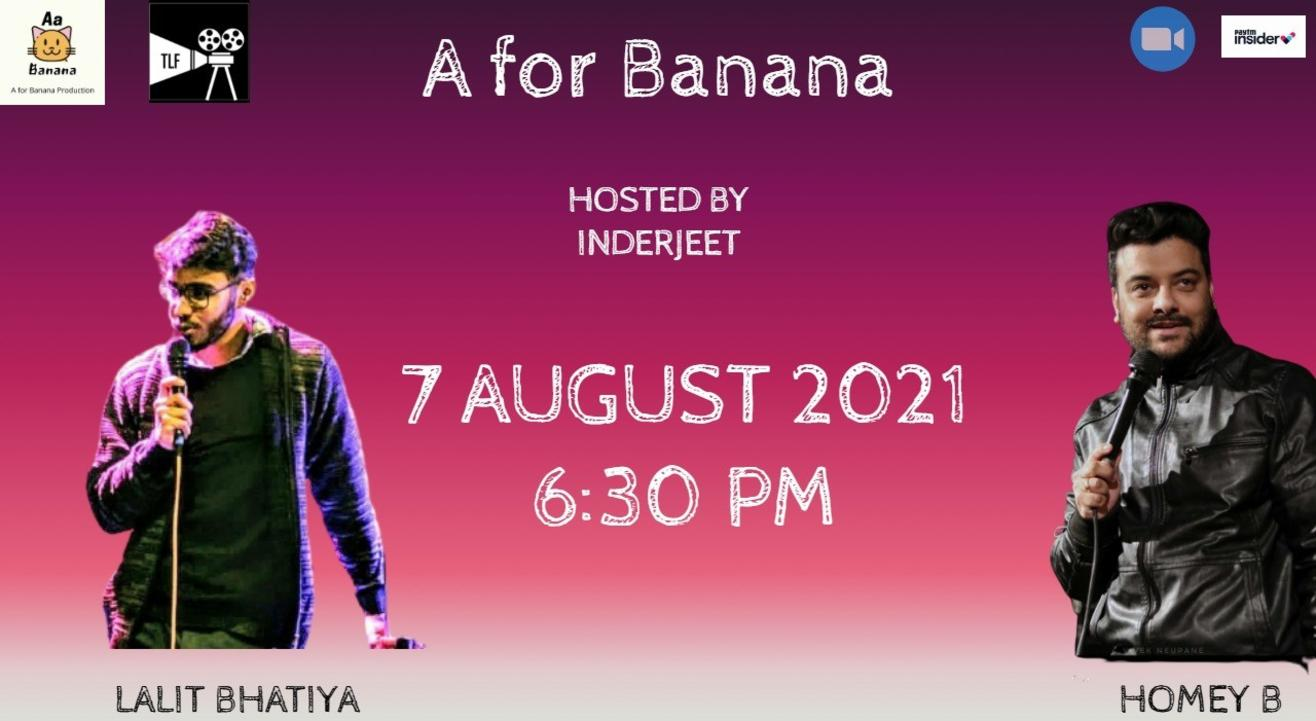 A for Banana Production Presents Comedy Evening