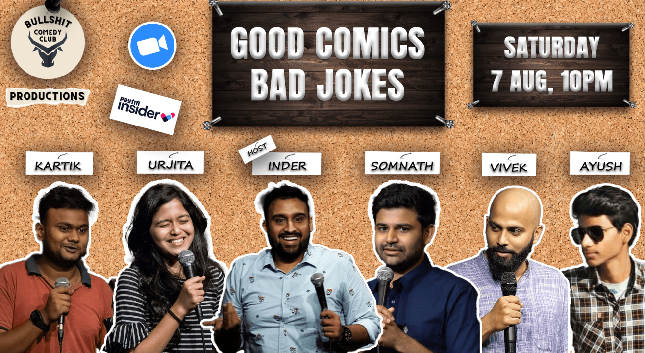 GOOD COMICS BAD JOKES