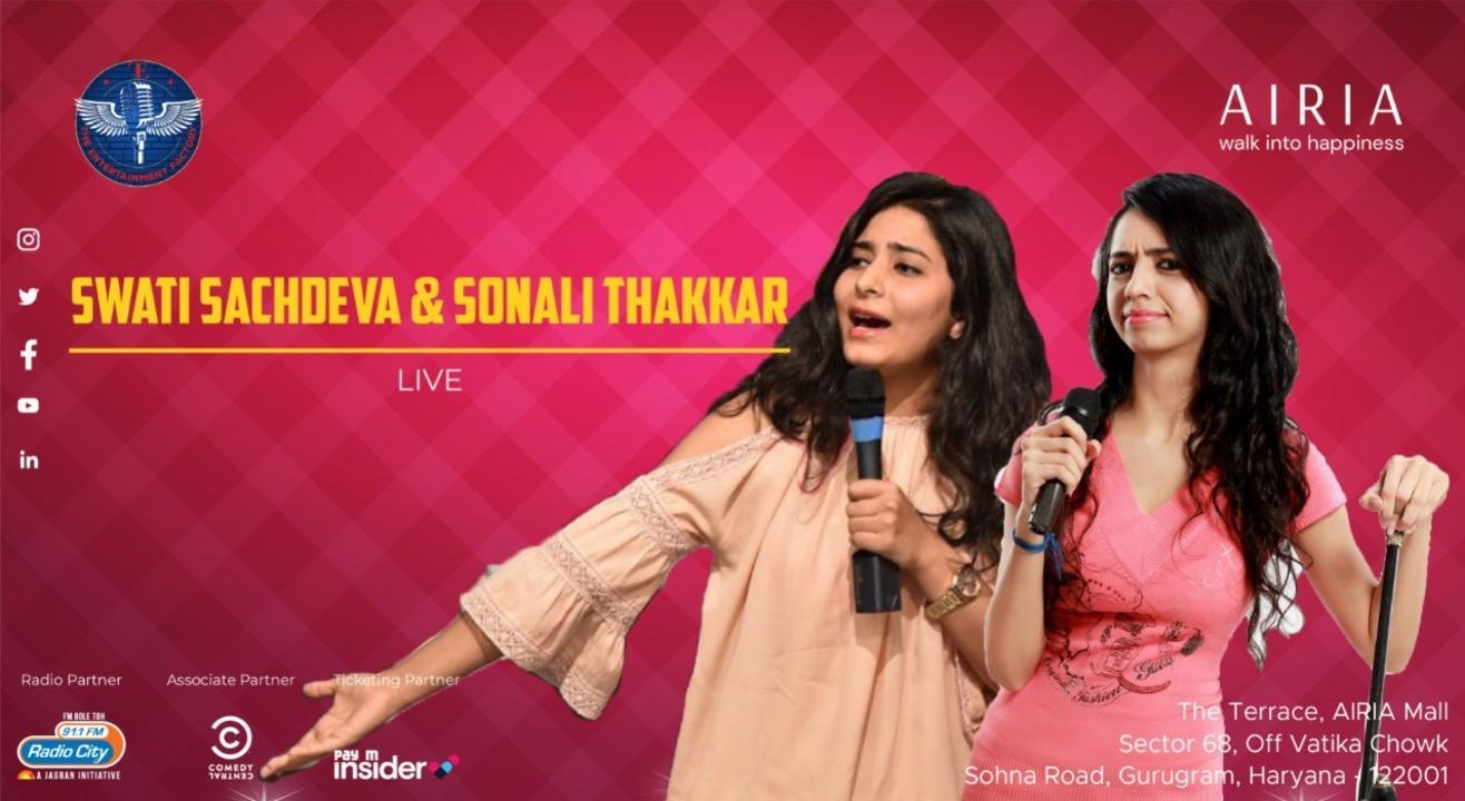 Swati Sachdeva & Sonali Thakkar Live