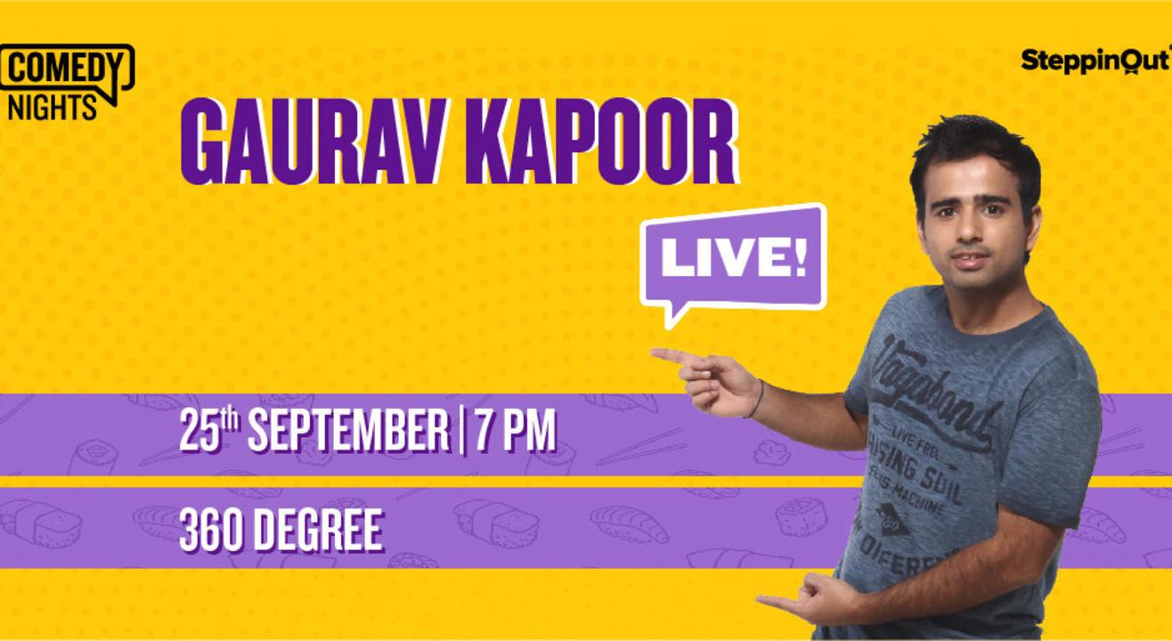 Gaurav Kapoor Live | Jaipur
