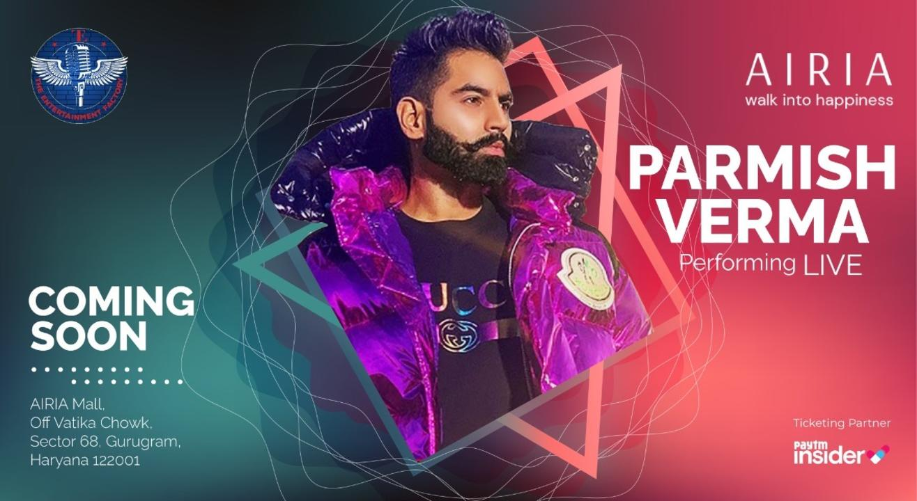 Parmish Verma Performing Live