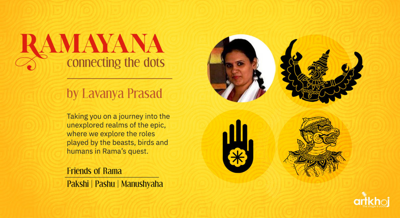 Ramayana Connecting the Dots - Online Storytelling Performance
