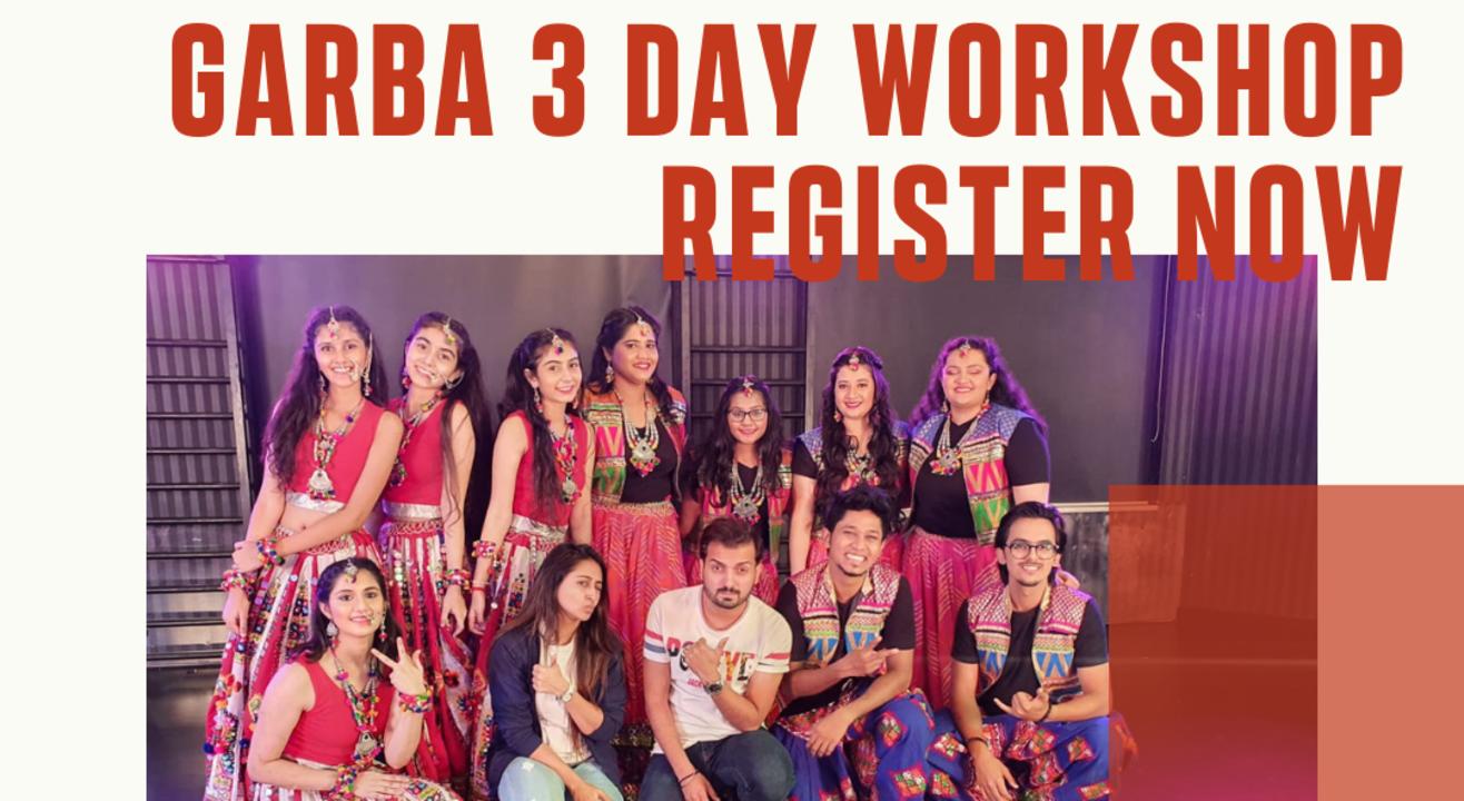Garba 3 Day Workshop