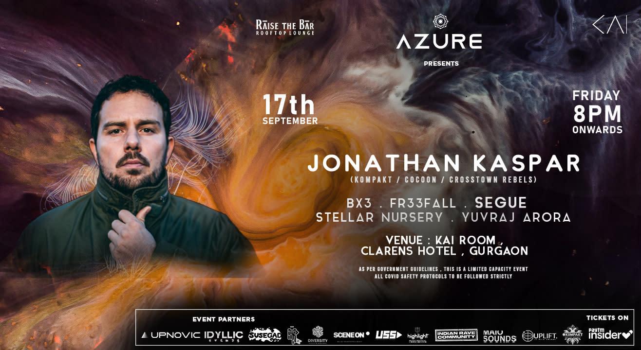 Azure Presents Jonathan Kaspar (Cocoon/Kompakt)