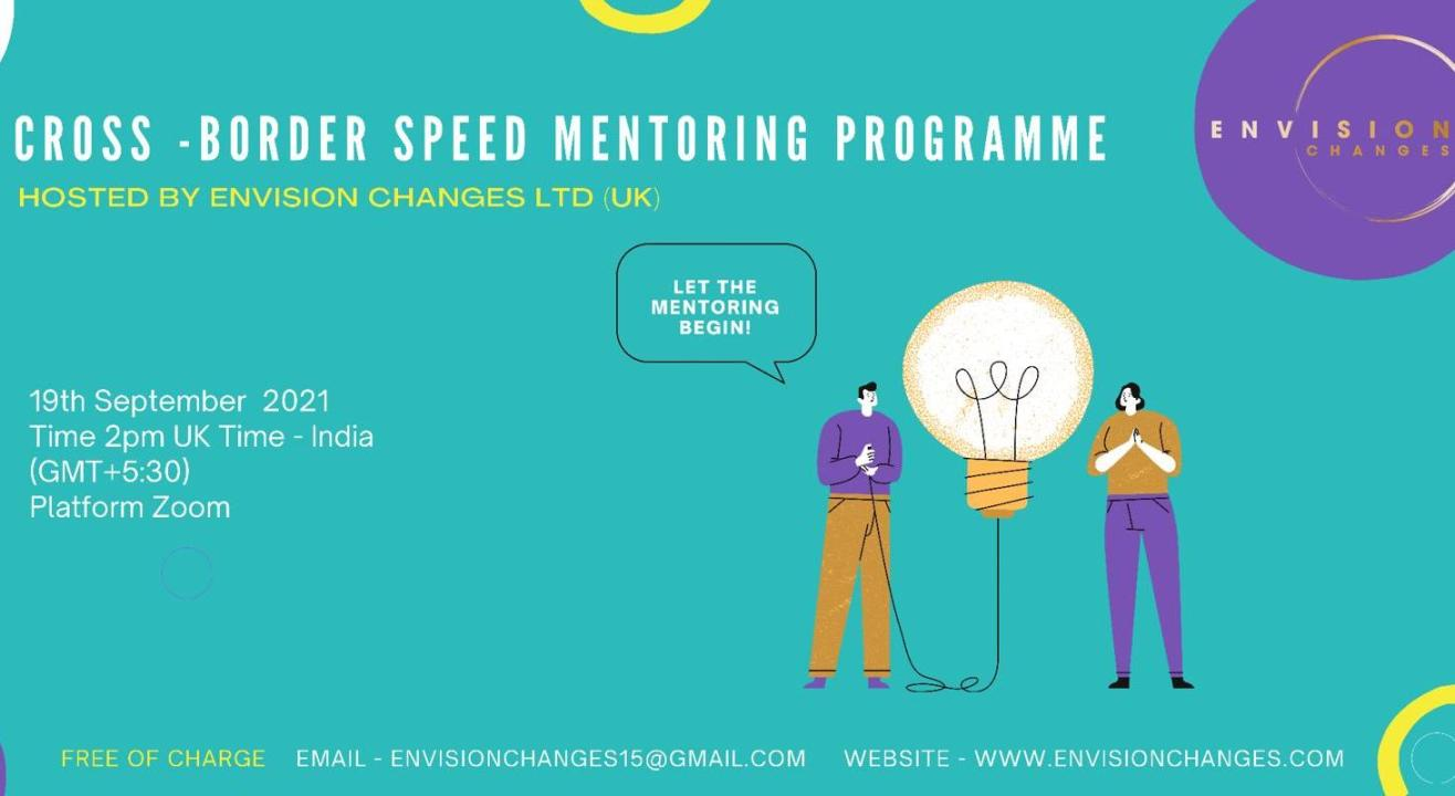 Envision Changes Cross-Border Speed Mentoring Programme India