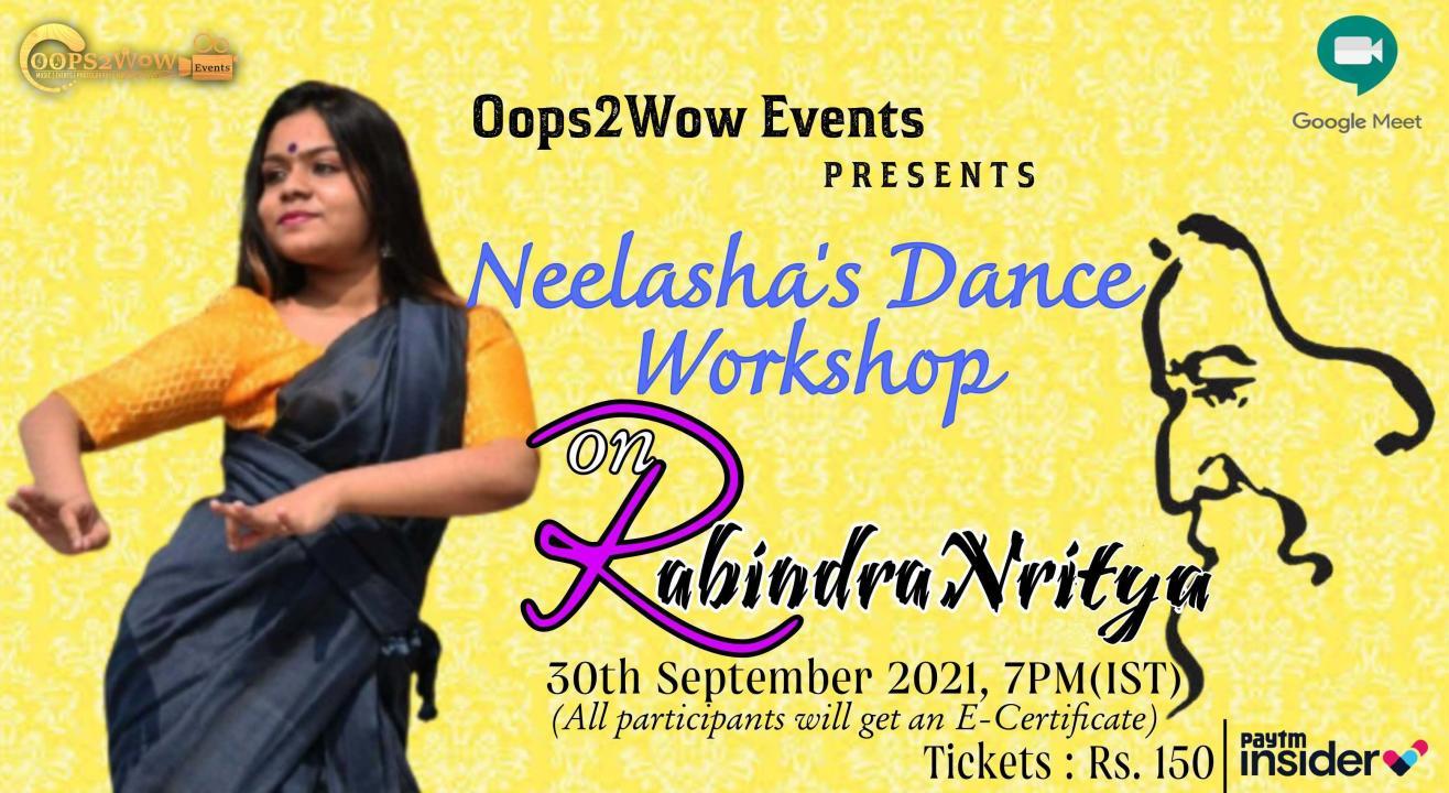 Neelasha's Dance Workshop on RabindraNritya