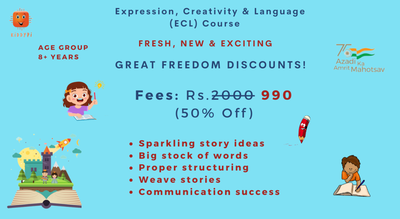 Expression, Creativity & Language (ECL) Course