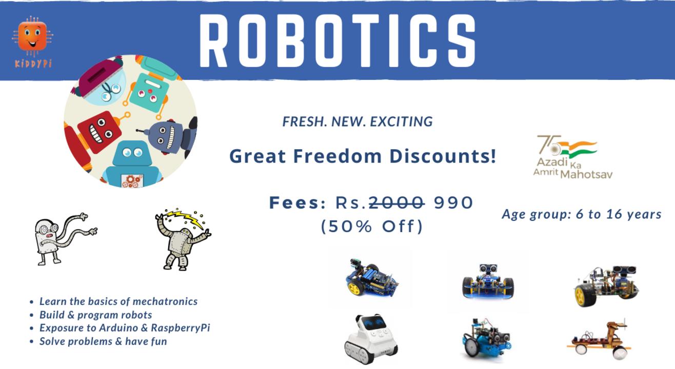 Robotics and Coding Magic by KiddyPi