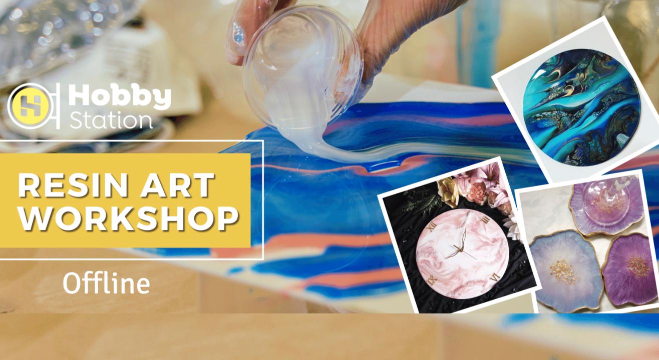HobbyStation - Resin Art Workshop