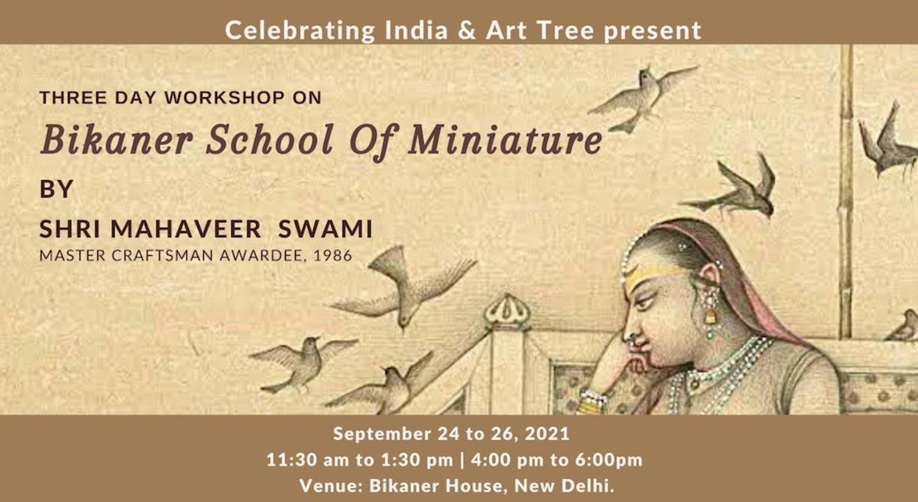 Workshop on Bikaner School of Miniature