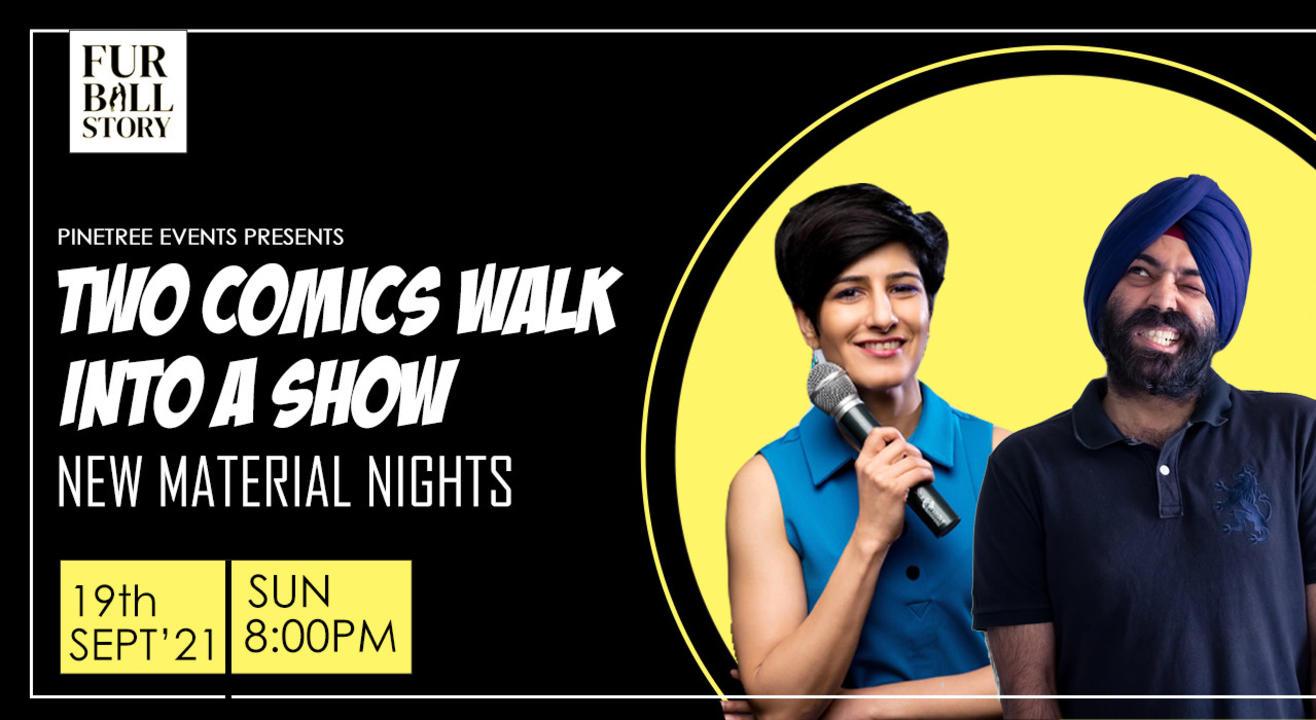 Two Comics Walk Into A Show ft. Neeti Palta