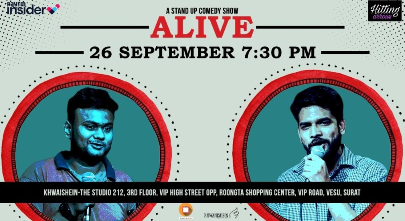 ALIVE: A Standup Comedy Show