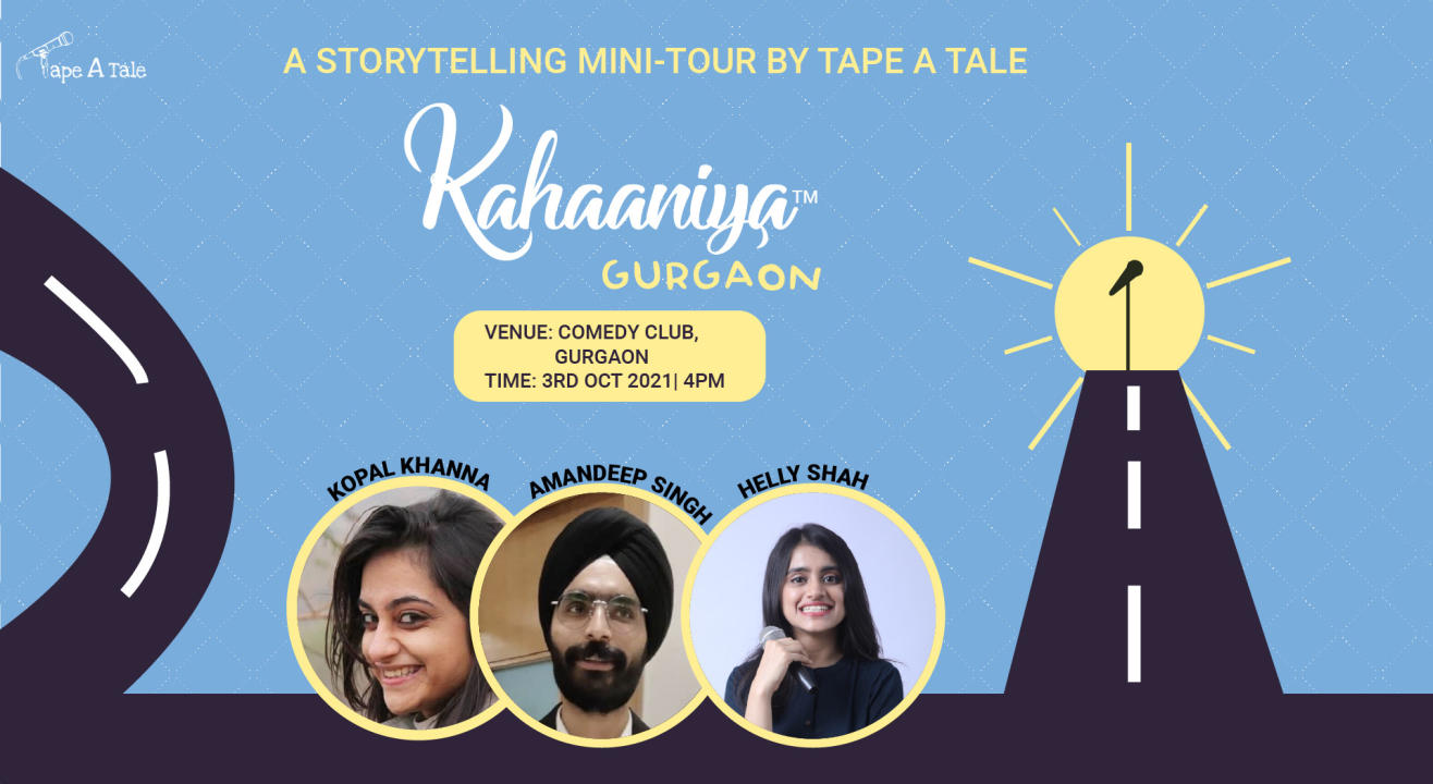 Kahaaniya - Gurgaon   A Storytelling Show By Tape A Tale