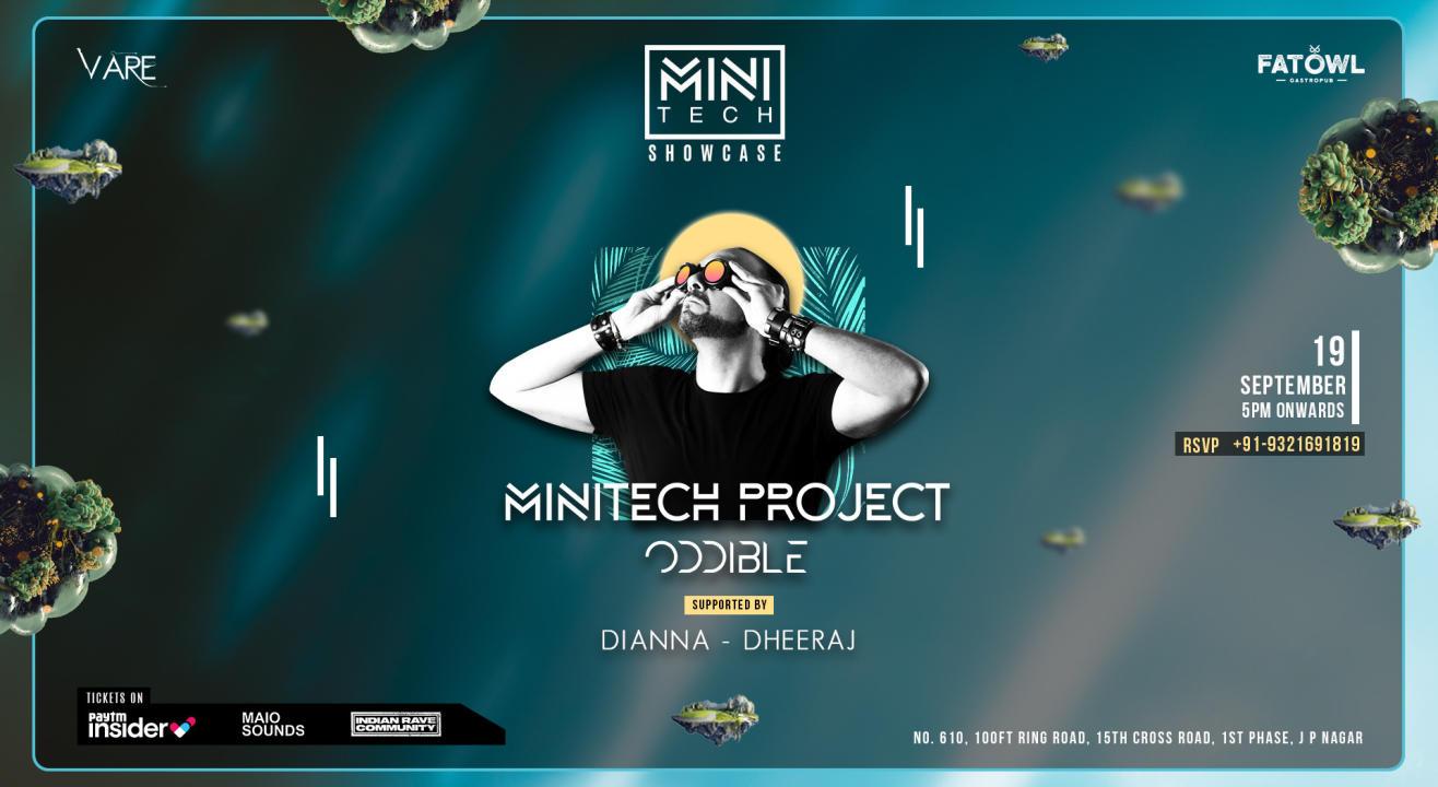 Minitech Showcase @ Fatowl, Bangalore