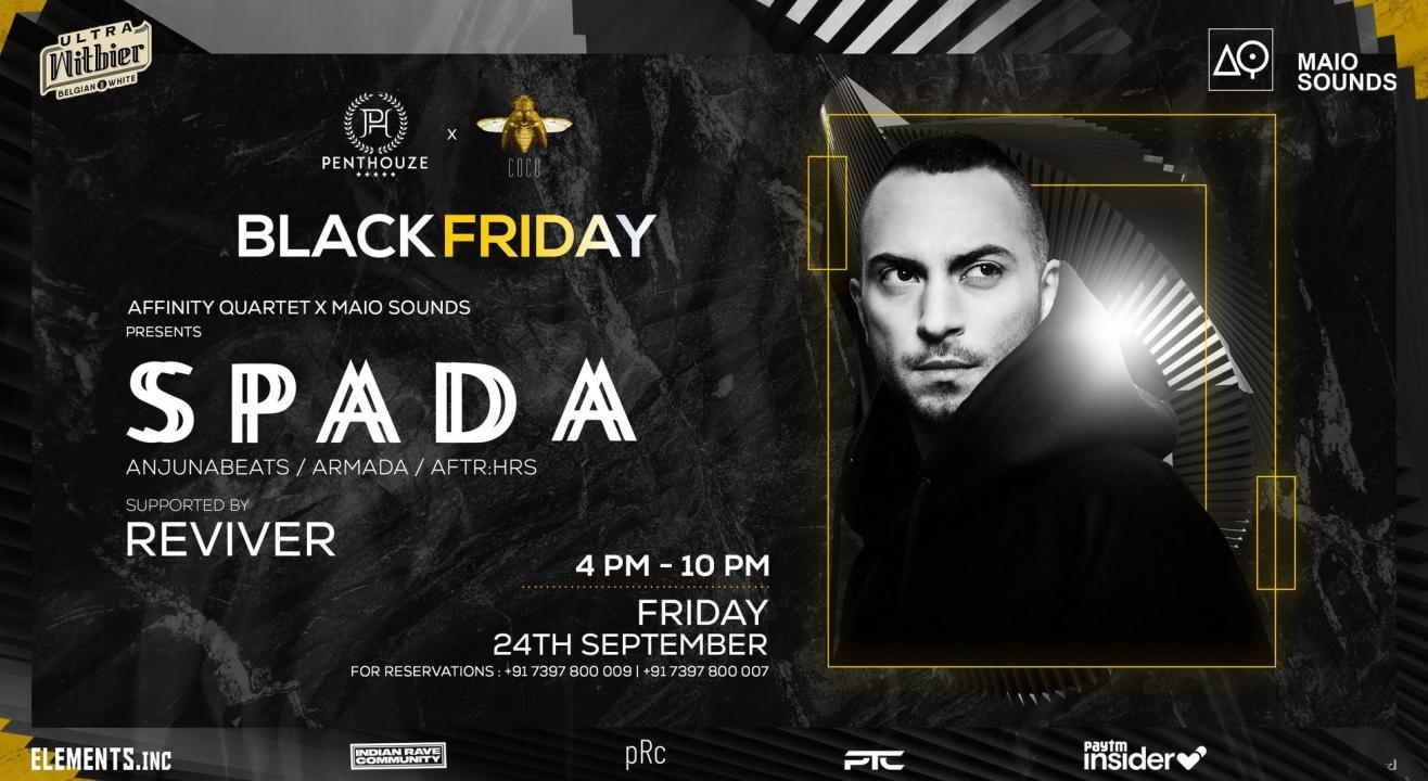 Black Friday featuring Spada & Reviver