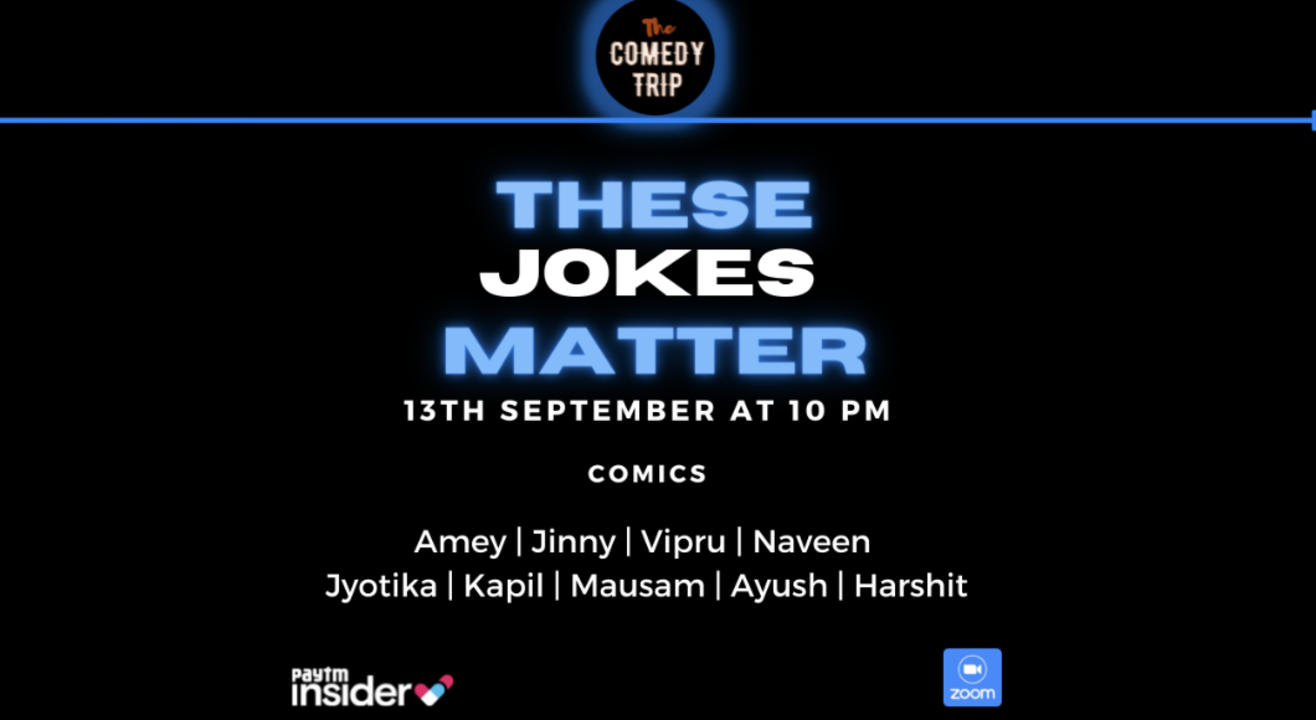 These Jokes Matter - The Comedy Trip