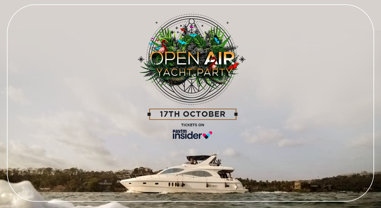 OPEN AIR YACHT PARTY!!