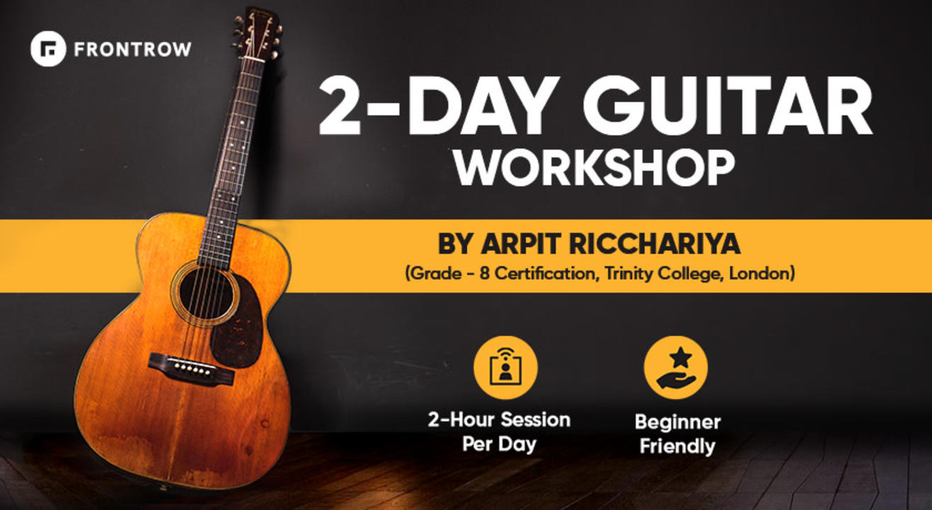 Learn Guitar Live | 2 day workshop | Frontrow
