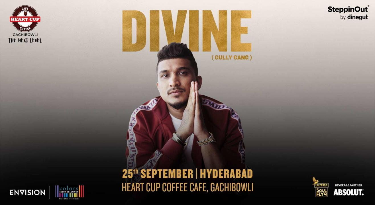 DIVINE Live at Heart Cup Coffee | SteppinOut