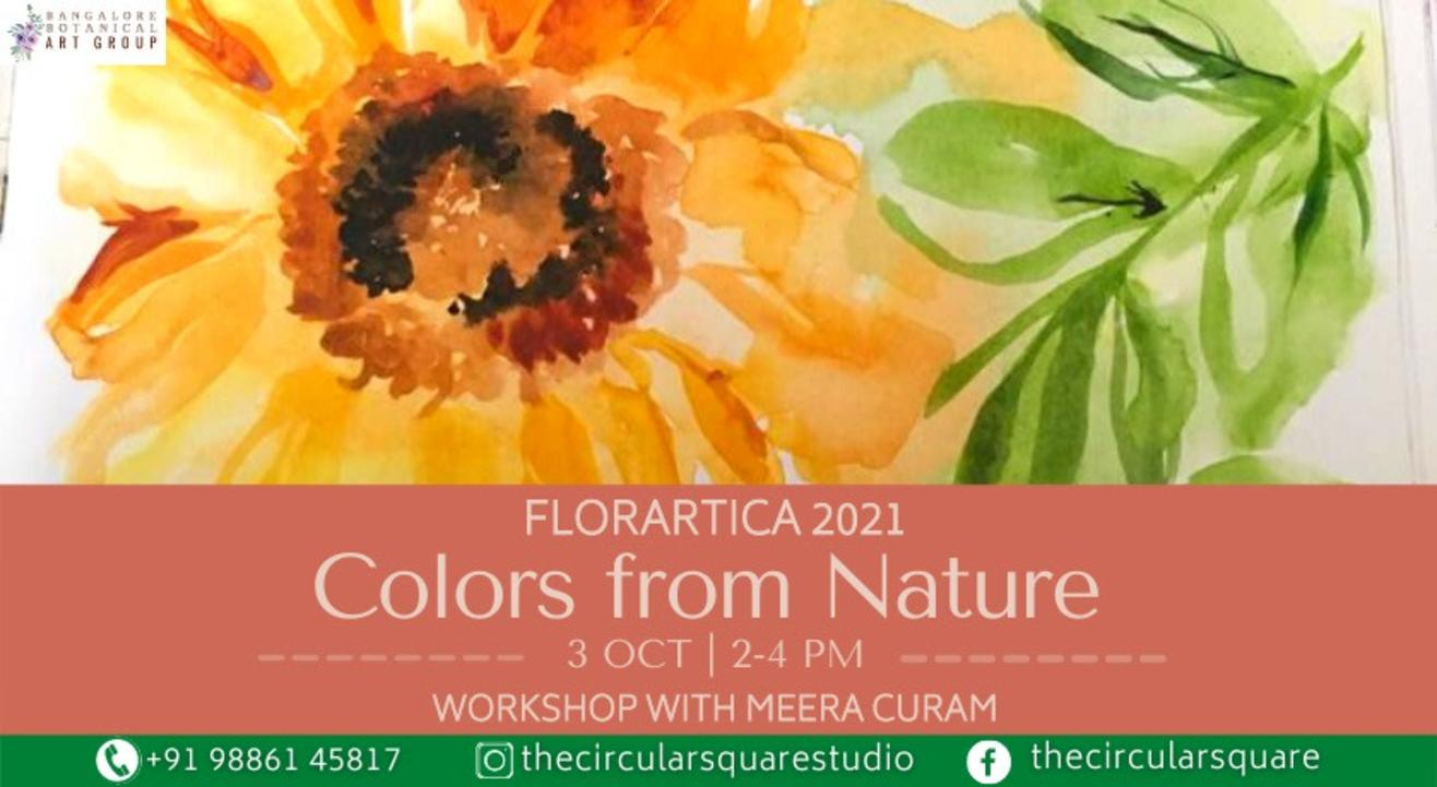 Colors from nature - Workshop