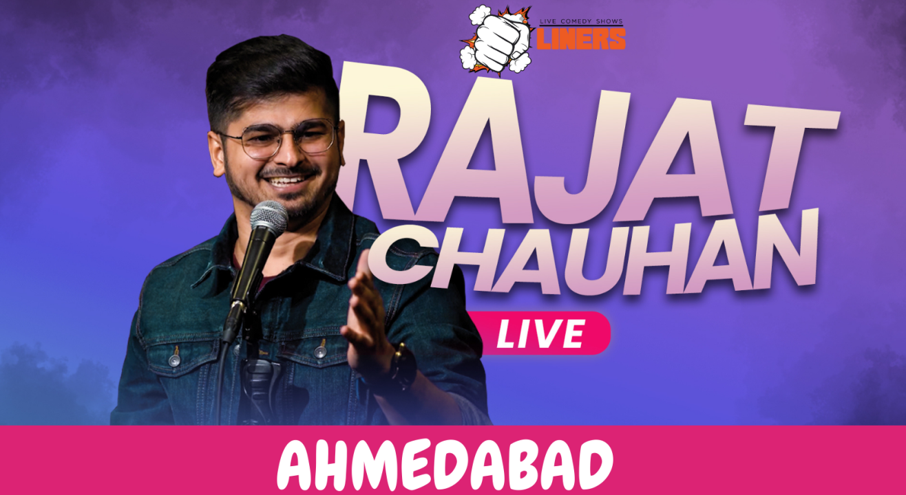 Punchliners Comedy Show ft Rajat Chauhan Live in Ahmedabad