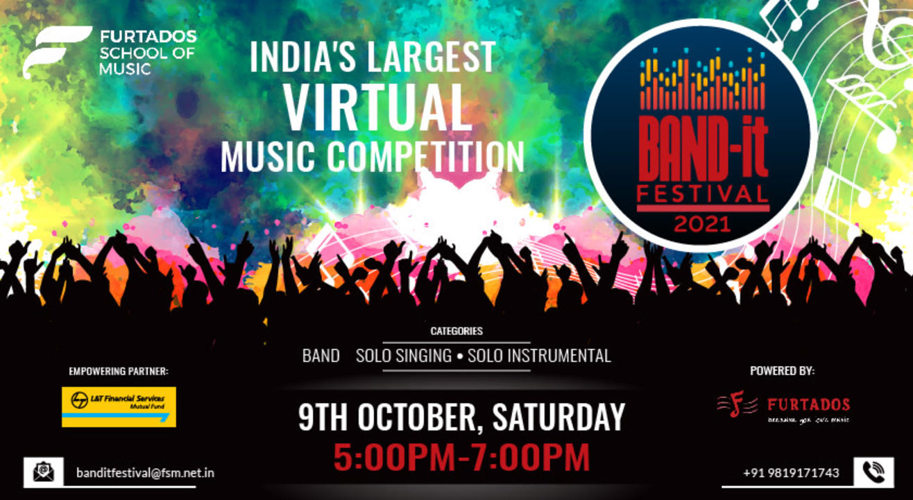 Band-it Festival 2021: India's Largest Virtual Music Competition