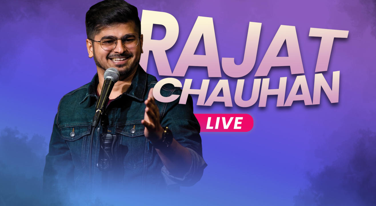 Rajat Chauhan Live a Stand Up Comedy Show