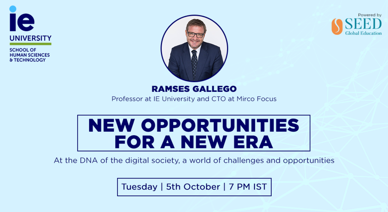 New opportunities for a new era