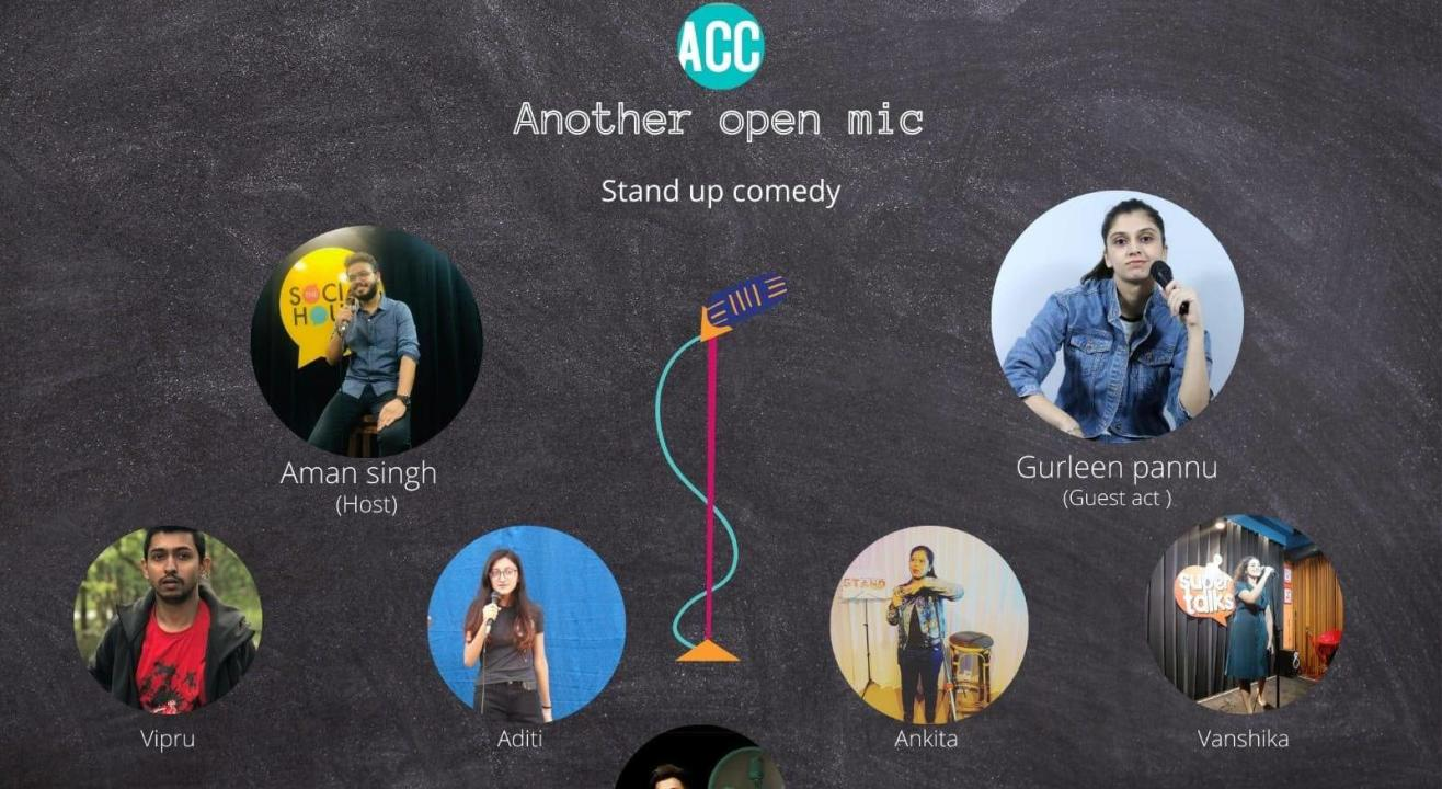 Another Open Mic By Another Comedy Club with Gurleen Pannu