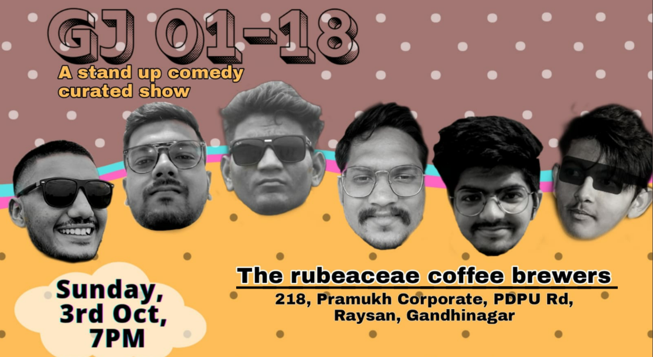 GJ 01-18 a stand up comedy show