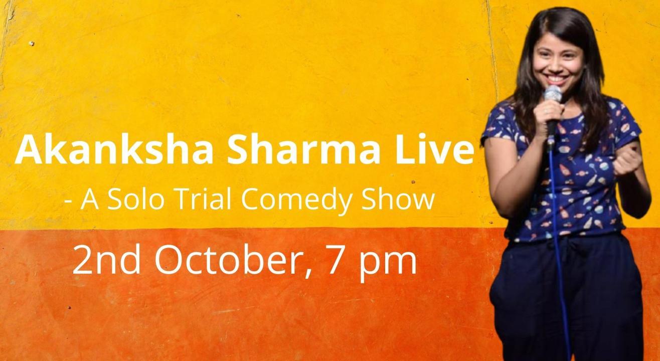 Akanksha Sharma Live - A Zoom Comedy Show