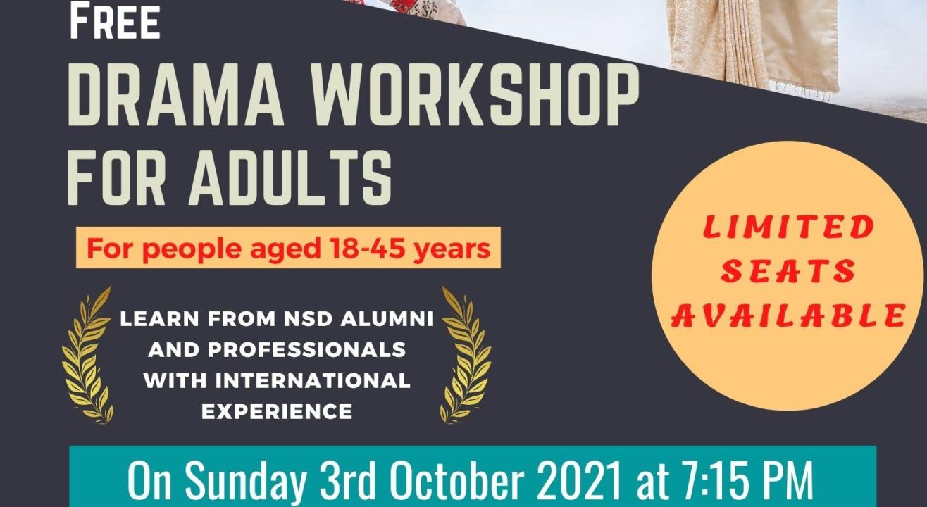 Drama Workshop for Adults