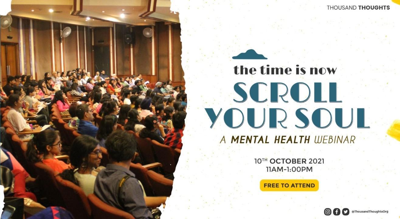 Scroll Your Soul - A Mental Health Webinar
